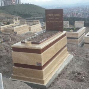 Kızılcahamam Traverten Mermer Mezar