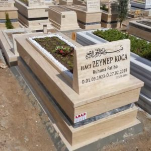 Ankara Traverten Mermer Mezar