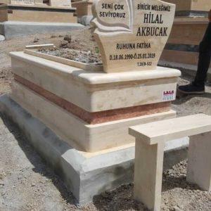 Antalya Traverten Mermer Mezar
