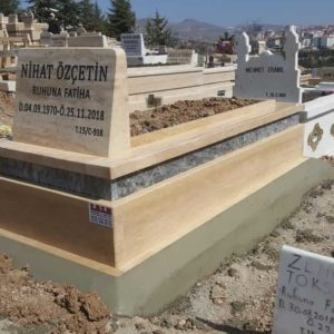 Bursa Traverten Mermer Mezar