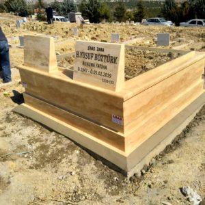 Çanakkale Traverten Mermer Mezar