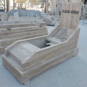 Elazığ Traverten Mermer Mezar