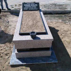 Bala Yerli Granit Mezar Modelleri
