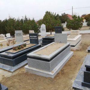 Artvin Yerli Granit Mezar Modelleri
