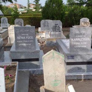 Edirne Yerli Granit Mezar Modelleri