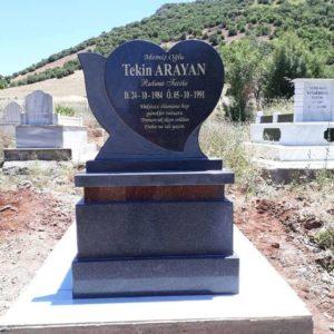 Erzurum Yerli Granit Mezar Modelleri