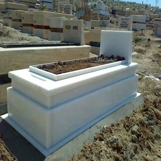 Beyaz Mermer Ankara Mezar Örnekleri
