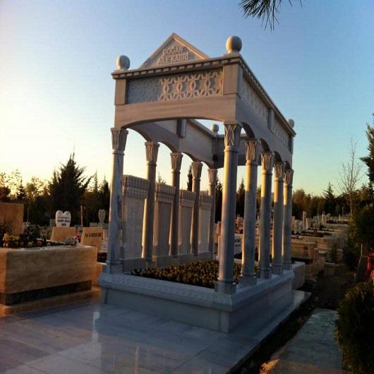 Değişik Özel Tasarım Ankara Mezar Örnekleri