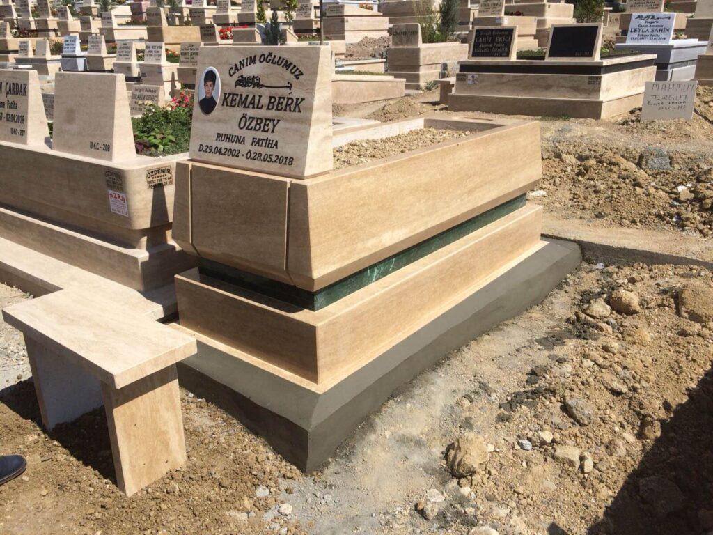 blok kalın mezar fiyatları