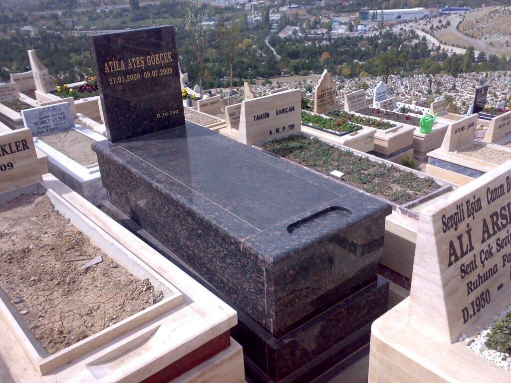 kapalı mezar modeli