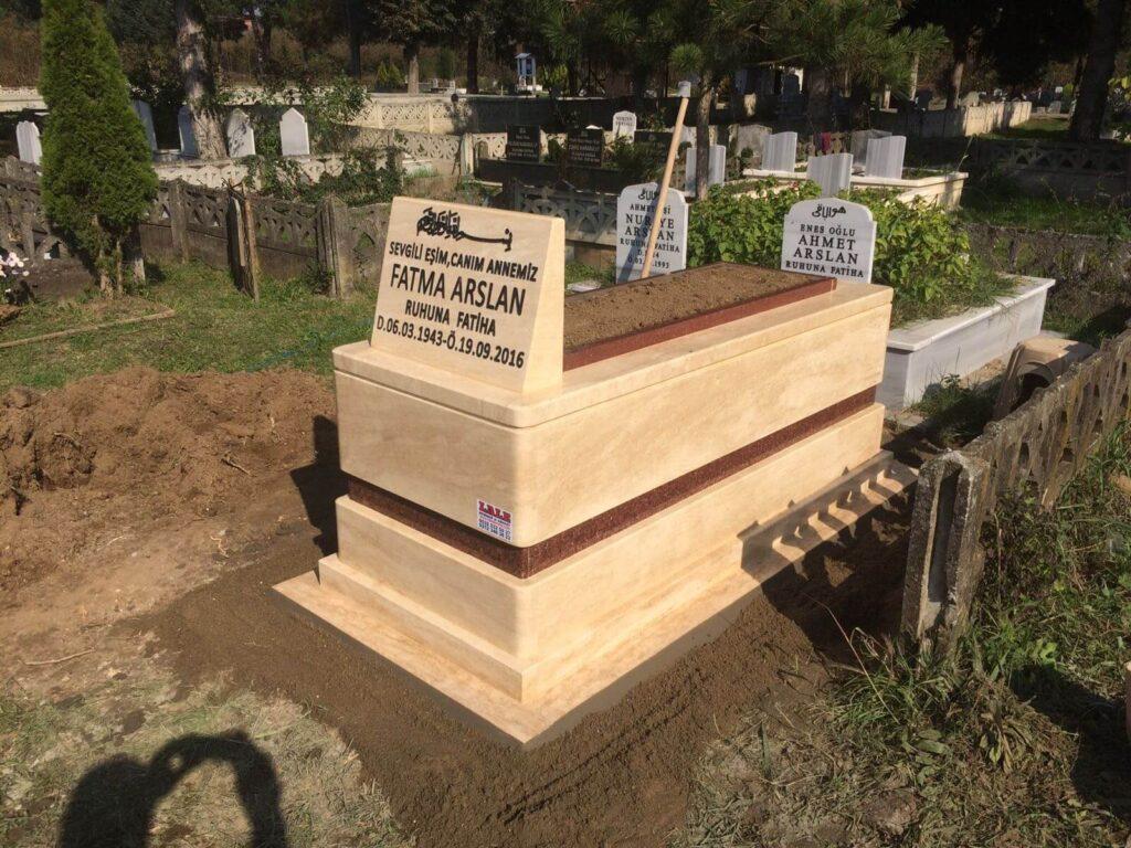 Traverten mermer mezar fiyatları